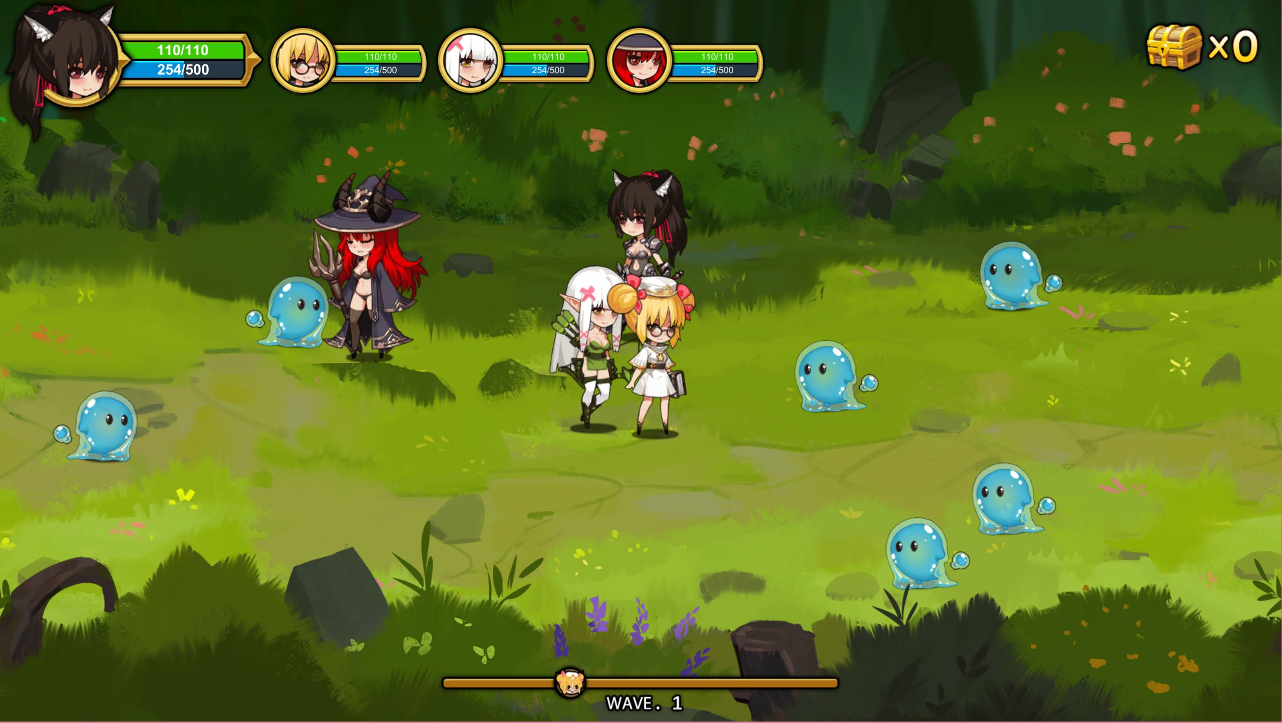 Treasure Chest Corps - Fight Demons to Restore the Barrier screenshot 1