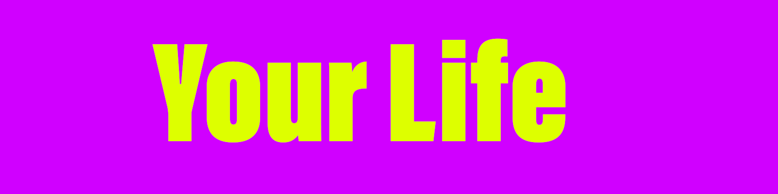YourLife poster