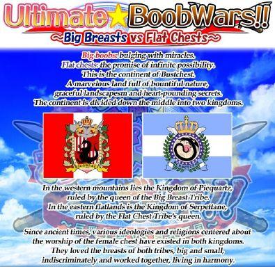 Ultimate Boob Wars!! ~Big Breasts Vs Flat Chests~