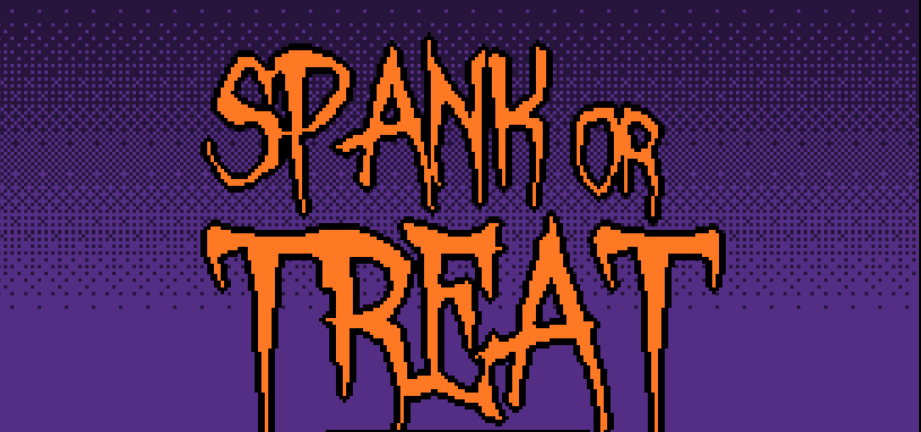 Spank or Treat poster