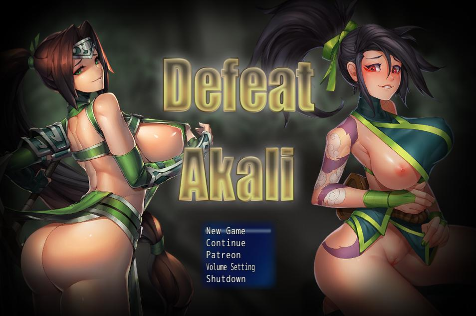 Defeat Akali poster