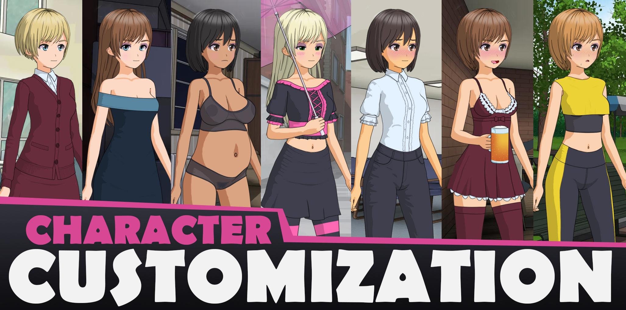 Porn Games Customization