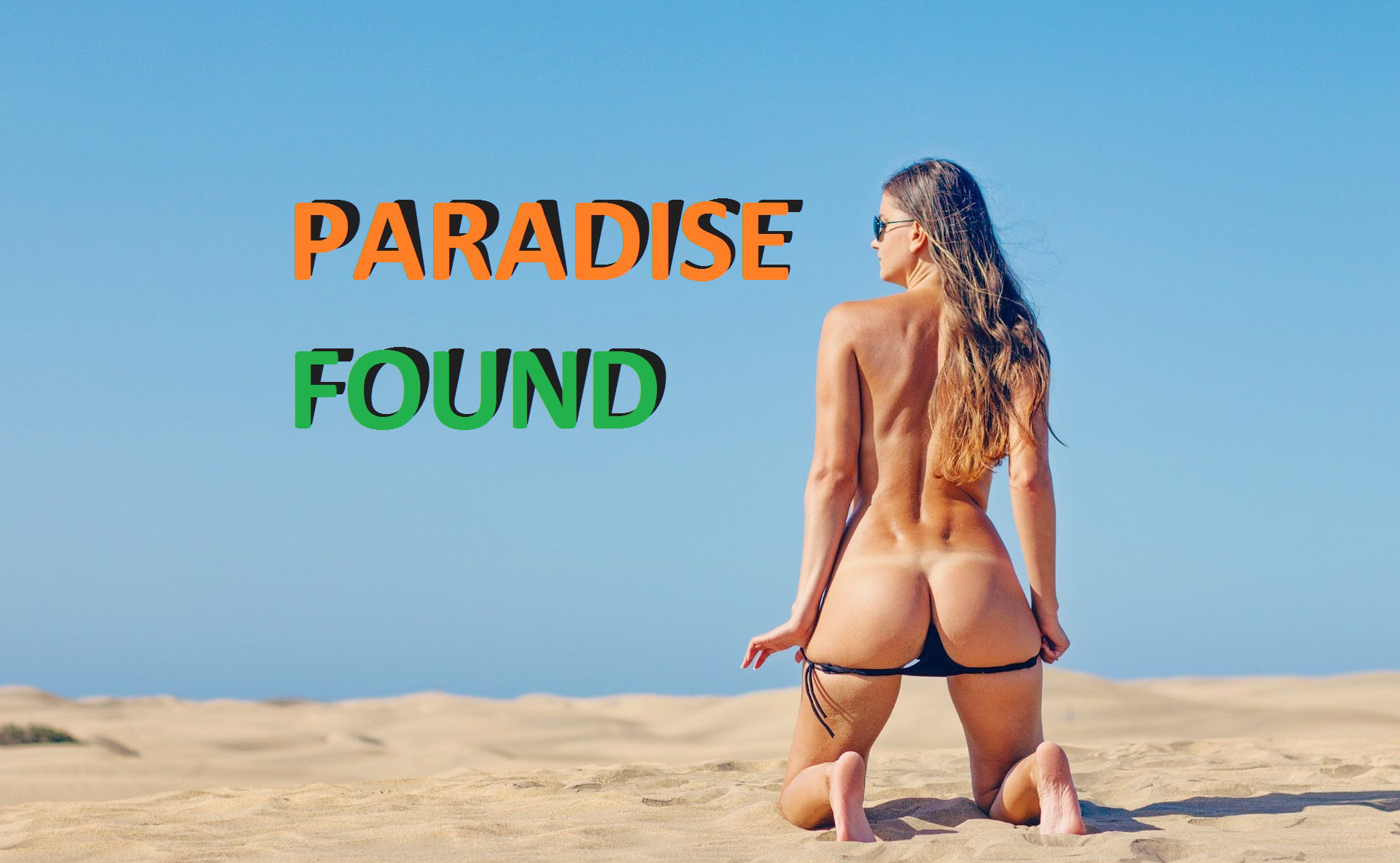 Paradise Found poster