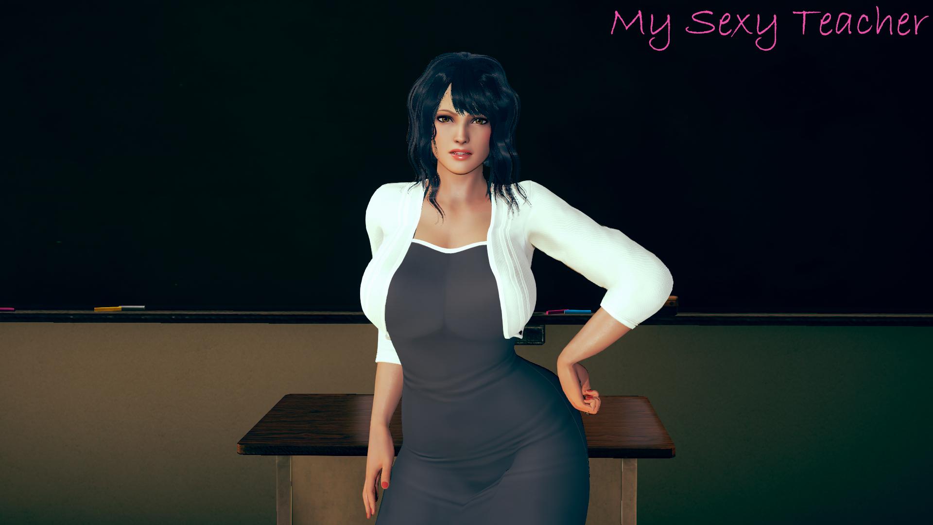 My Sexy Teacher v0.03 - free game download, reviews, mega
