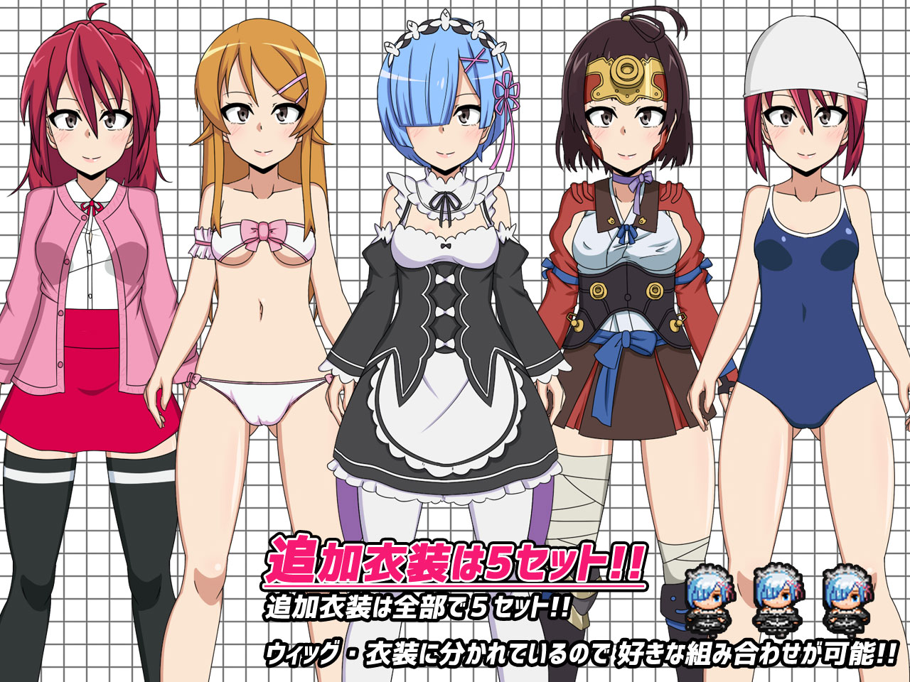 3 Way Hentai Game cos ro 3 v1.24 + dlc] [h.h.works [completed] - xgames free