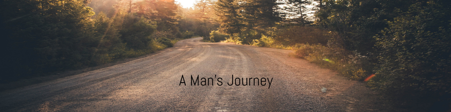 A Man's journey poster