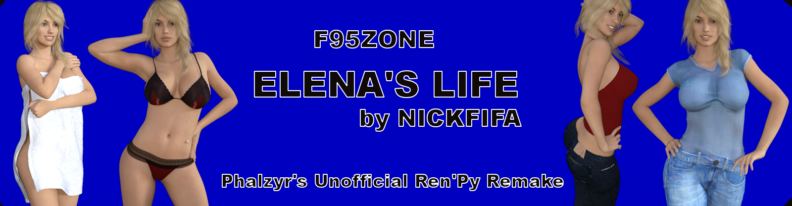 Elena's Life RenPY Unofficial Remake poster