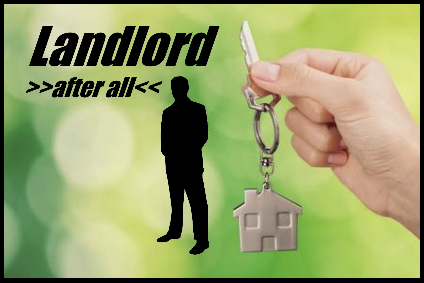 Landlord after all poster