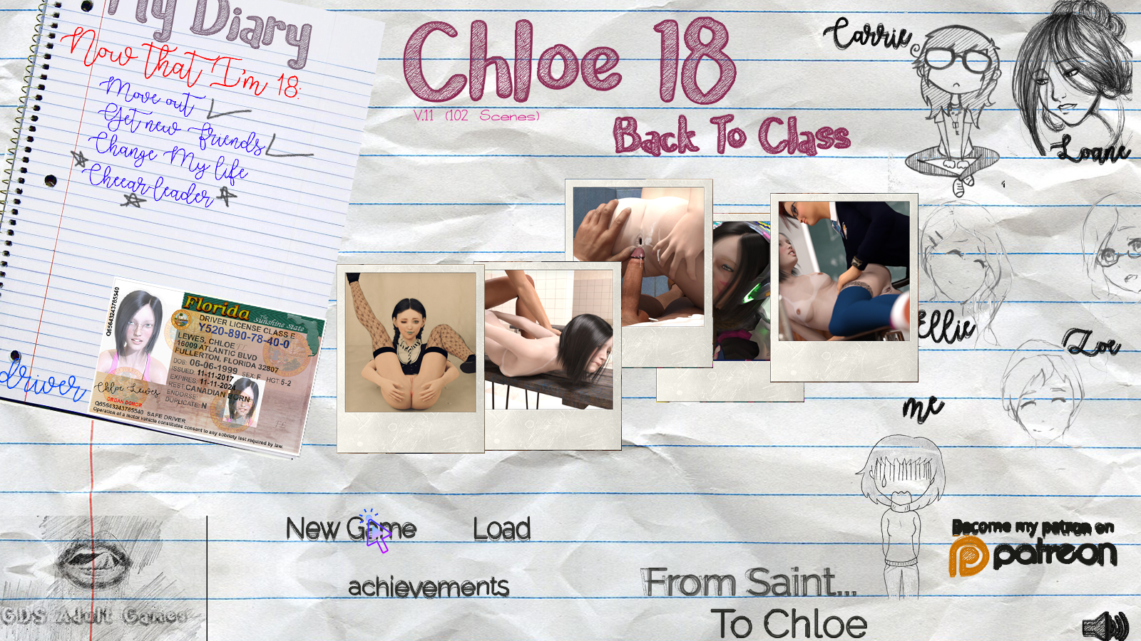 Chloe18 - Back To Class poster