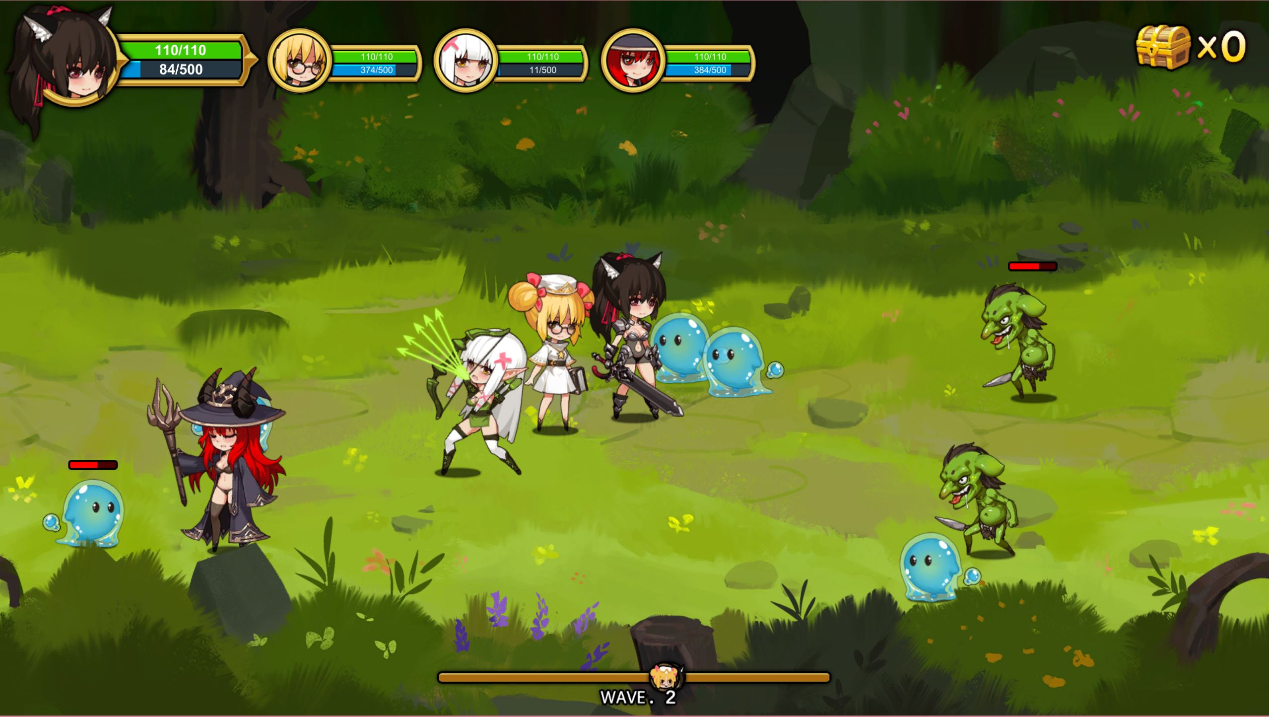 Treasure Chest Corps - Fight Demons to Restore the Barrier screenshot 2